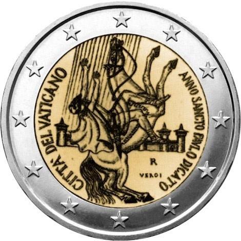 2 euro: Paul the Apostle