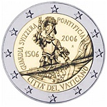 2 euro: 500th Anniversary of the Swiss Guard