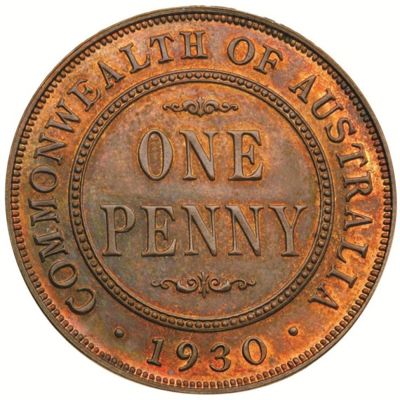 A rare Australian proof penny valued at $1.4 million dollars