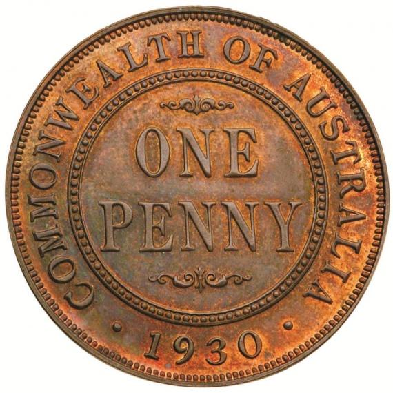 A rare Australian proof penny valued at $1.4 million dollars