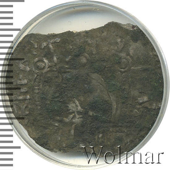 Сребренник. Владимир Святославич (тип III). Monetarius.Capital